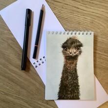 Eddy the Emu Note Pad